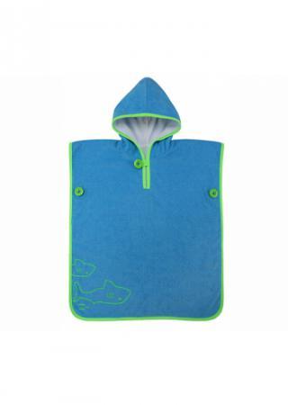 Полотенце-пончо детское Aqua Sphere